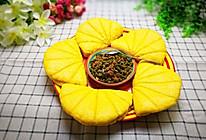 南瓜荷叶饼馍(夹肉末酸豇豆)的做法