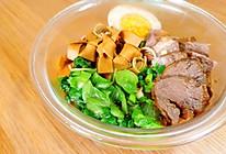 卤味拼盘+牛肉面的做法