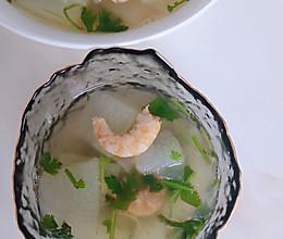 简单好喝的虾仁冬瓜汤的做法