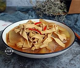 冬瓜煮豆皮的做法