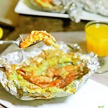 香橙盐霜烤大虾#美味烤箱菜,就等你来做!#