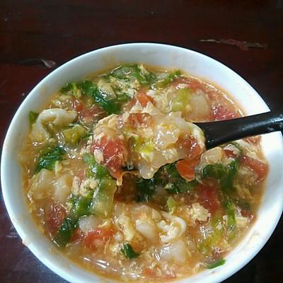 养胃面疙瘩汤