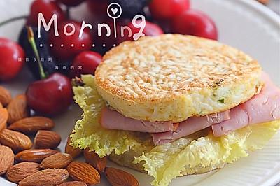 剩面条变身美味早餐饼