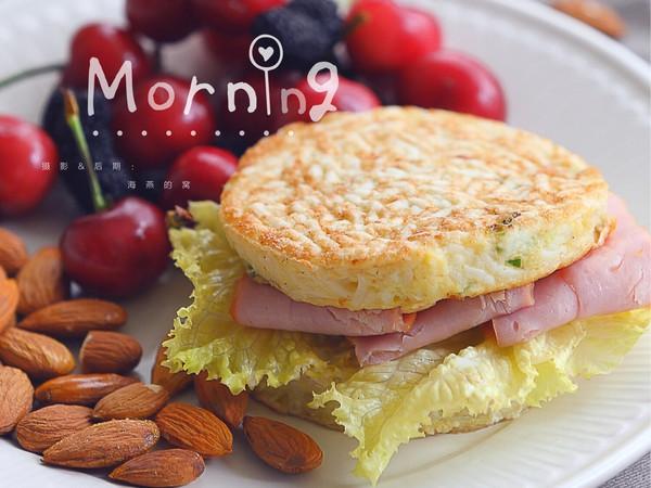 剩面条变身美味早餐饼的做法