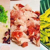 #中秋团圆食味#五花肉豆角焖面的做法图解1