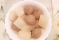 萝卜牛肉丸的做法