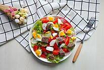 鸡蛋果蔬沙拉#春天肉菜这样吃#的做法