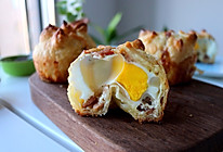 迷你培根鸡蛋酥饼#美的FUN烤箱,焙有FUN儿#的做法
