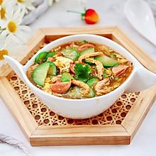 #食来运转 八方进福#黄瓜火腿磷虾鸡蛋汤