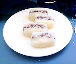 #夏日消暑,非它莫属#蜜红豆凉糕的做法