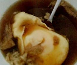 经期驱寒 姜汁红糖卧蛋的做法