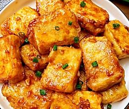 香煎豆腐(五分钟快手美食)的做法