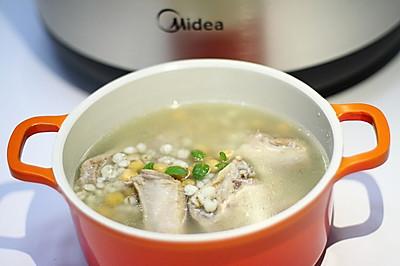 薏米鹰嘴豆排骨汤(炖)