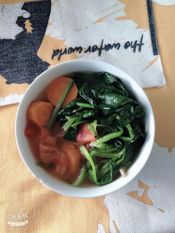 维生素菠菜汤的做法