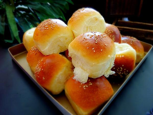 奶香软面包的做法
