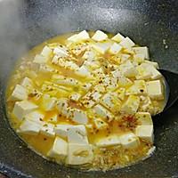 #快手又营养,我家的冬日必备菜品#咖喱真蟹黄豆腐的做法图解11