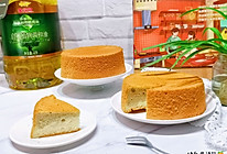 #橄享国民味 热烹更美味#网红~生椰咖啡戚风蛋糕的做法