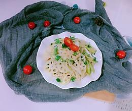 #节后清肠大作战#凉拌藕片的做法