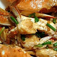 姜葱炒花蟹(梭子蟹)的做法图解7