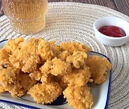 #肉食主义狂欢#微波炉盐酥鸡•无油低卡减脂小零食的做法