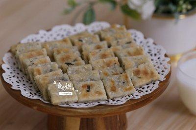 豆腐海苔饼干