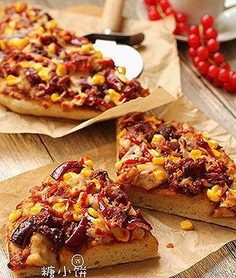 【BBQ烤鸡肉披萨】