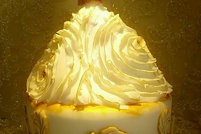 婚礼蛋糕--欧式婚纱