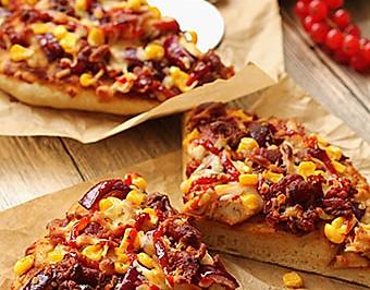 【BBQ烤雞肉披薩】