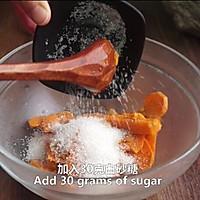 一根香蕉,一碗糯米粉,一块地瓜,就能做出美味的红薯香蕉糯米饼的做法图解4