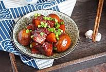 秘制红烧肉 肥而不腻 香而不柴卤蛋入味#网红美食我来做#的做法