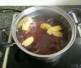 姜糖红枣水的做法