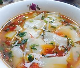 新疆揪片子汤饭的做法
