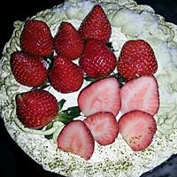 榴莲草莓芝士慕斯蛋糕的做法图解7