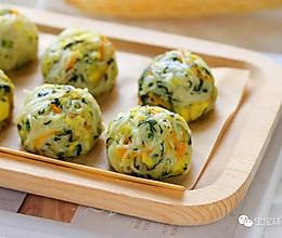 菠菜素丸子【宝宝辅食】的做法