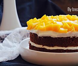 皇家芒果蛋糕#豆果5周年#的做法