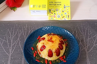 桂花椰香小米八宝饭