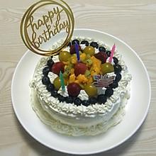 水果鲜奶生日蛋糕