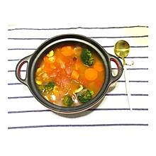 番茄时蔬汤#春天不减肥,夏天肉堆堆#