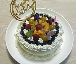 水果鲜奶生日蛋糕的做法