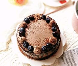 红茶巧克力奶油蛋糕的做法