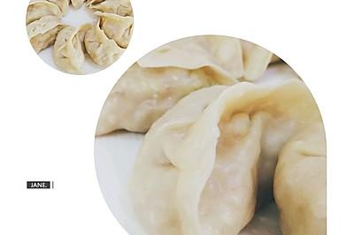 素白菜蒸饺