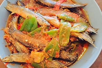 番茄汁椒炒小泥鳅