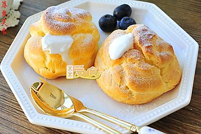 专属夏日的经典消暑甜品——冰爽美味的冰淇淋泡芙(长帝烘焙节)