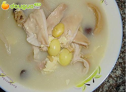 薏米腐竹素汤的做法