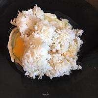 #晒出你的团圆大餐#X0酱菠萝粒鸡蛋炒饭的做法图解3