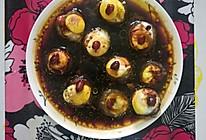 清蒸香菇鹌鹑蛋的做法