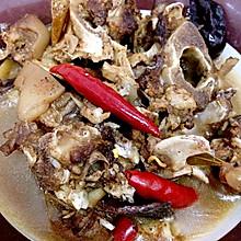 暖胃羊头--煮羊肉不膻的窍门