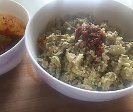 槐花蒸菜的做法