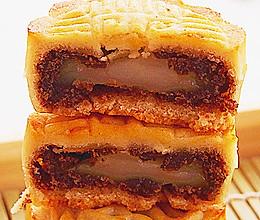 麻薯红豆沙月饼的做法