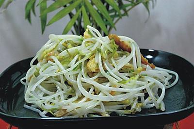 香干炒绿豆芽